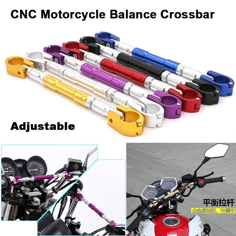 7//8″ 22mm Universal Motorcycle Aluminum alloy Handlebar Brace /& Clamp Set purple