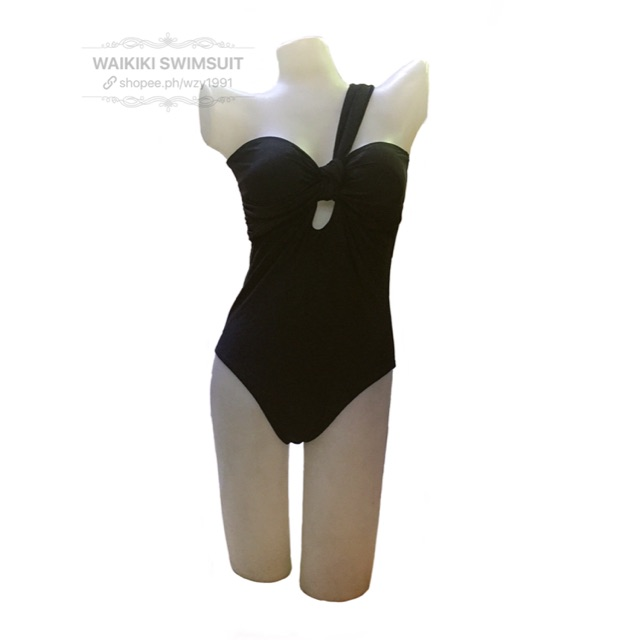 af5cf6143c2 WAIKIKI#5188 Swimsuit OnePiece Bikini One Shoulder Swimwear   Shopee  Philippines