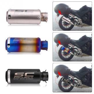 Muffler Silencer / Fiber Wool Motorcycle Muffler