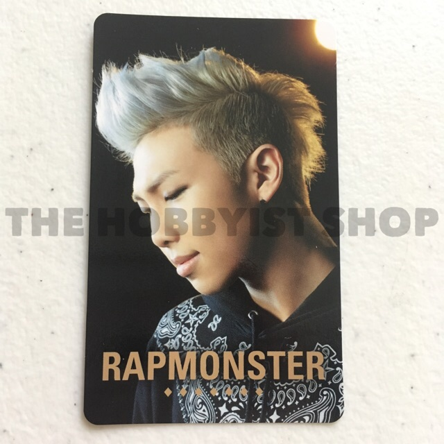 Bts Rap Monster No More Dream Japan Photocard Shopee Philippines