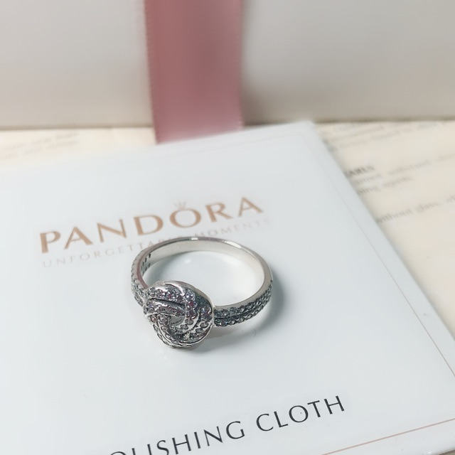60d1ad2df 925 Sterling Silver Crown diamond ring Girls Pandora style | Shopee  Philippines