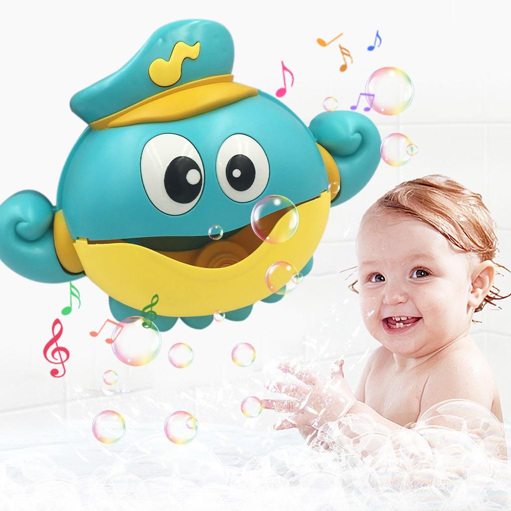 Baby Bath Bubble Toy Bubble Maker Bubble Blower Bubble Machine Big Octopus