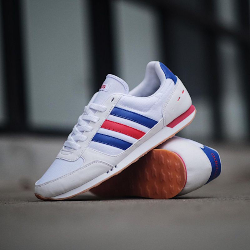 Adidas Neo City Racer White France Original Made In Indonesia