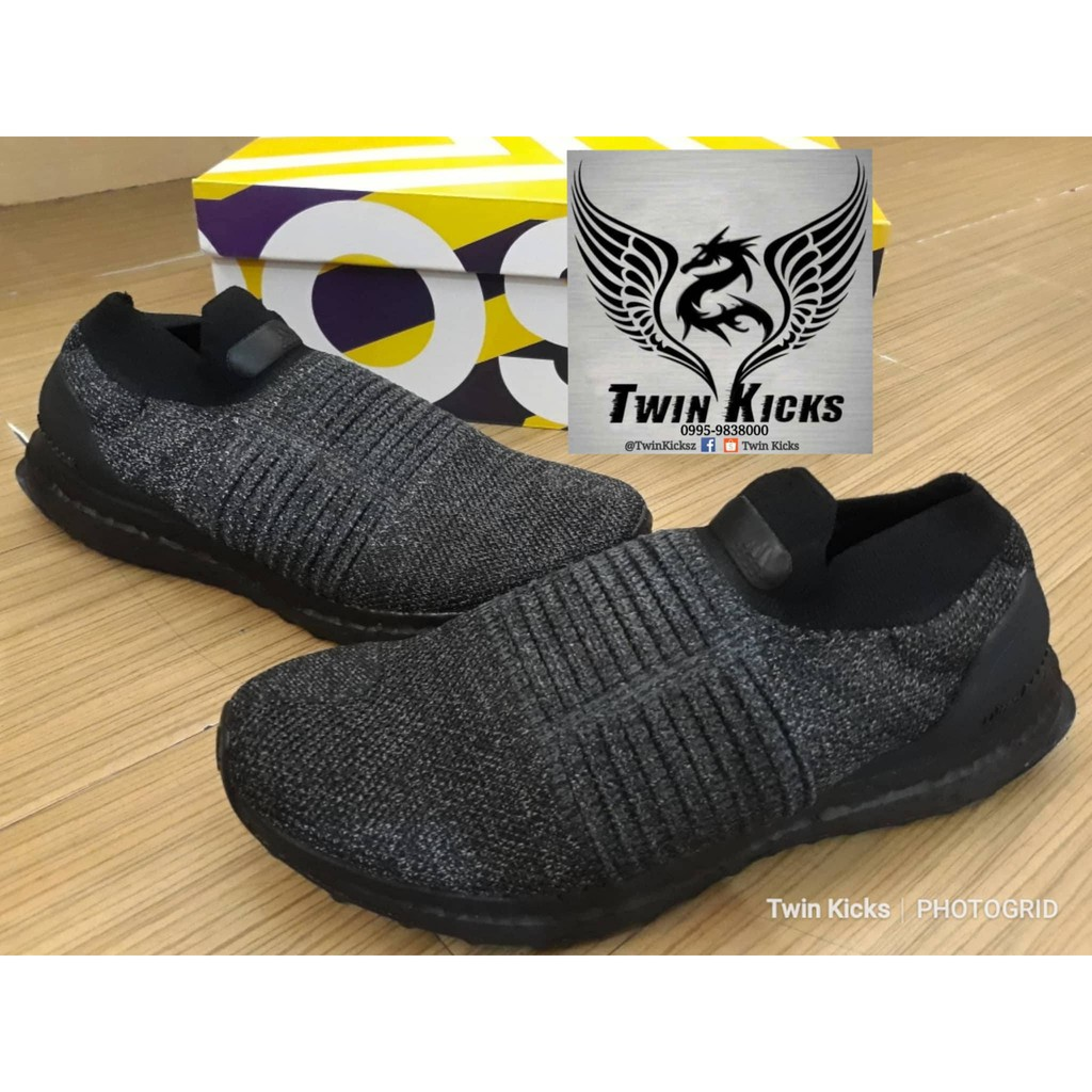 Adidas Ultraboost Laceless Triple Black