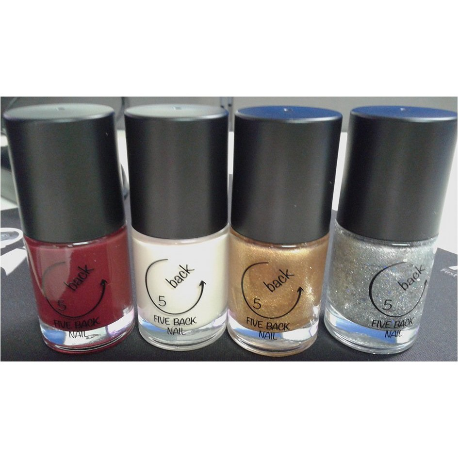 Korean Nail Polish Five Back Nail Brand On Hand Shopee Philippines