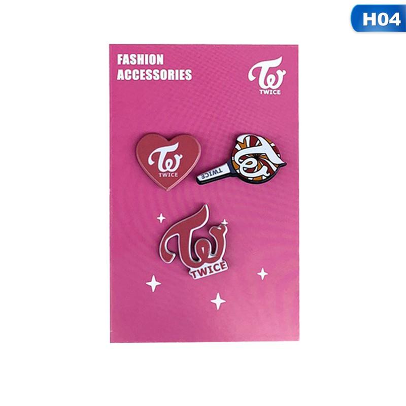 1Set KPOP BTS BLACKPINK EXO Badge Brooch Chest Pin Souvenir Jewelry Beautiful