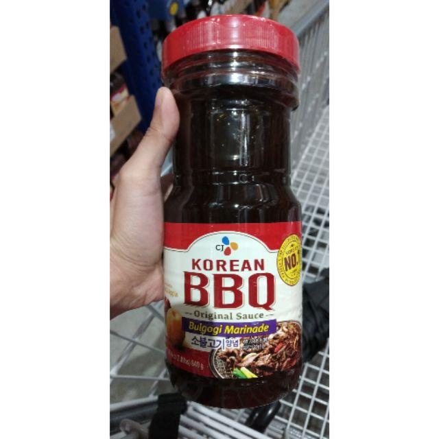 CJ Korean -Bbq Sauce