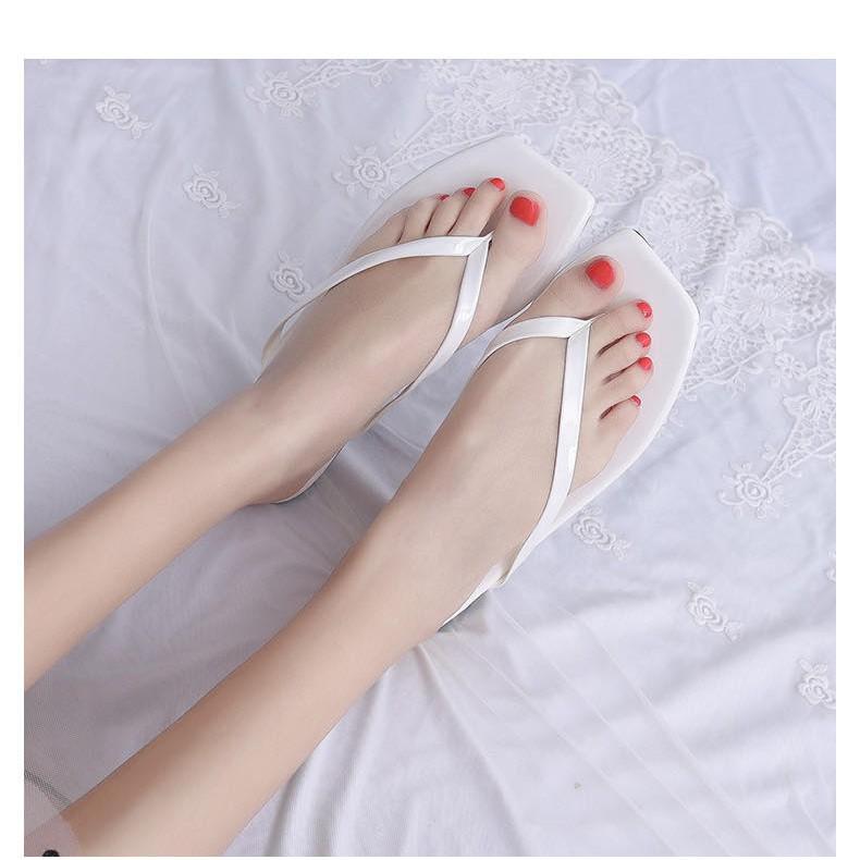 New Korean Fashion Women S Slippers Flip Flops Shopee Philippines