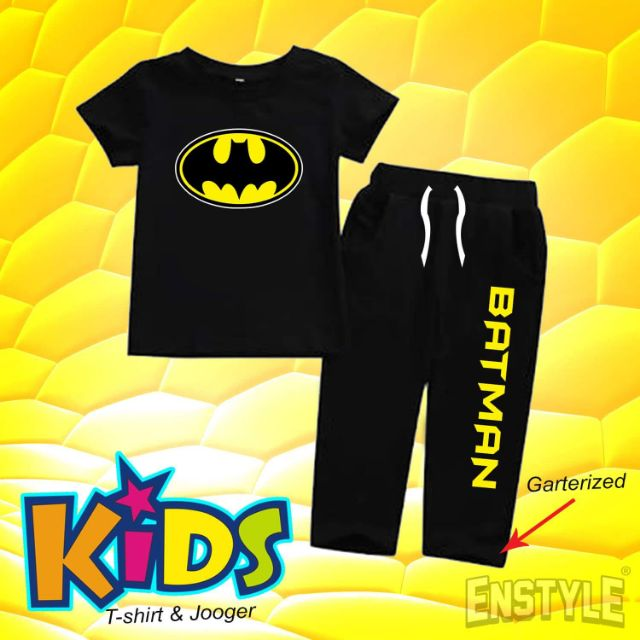 c641e50dc7 BATMAN terno kids CUSTOMIZED TSHIRT  COD