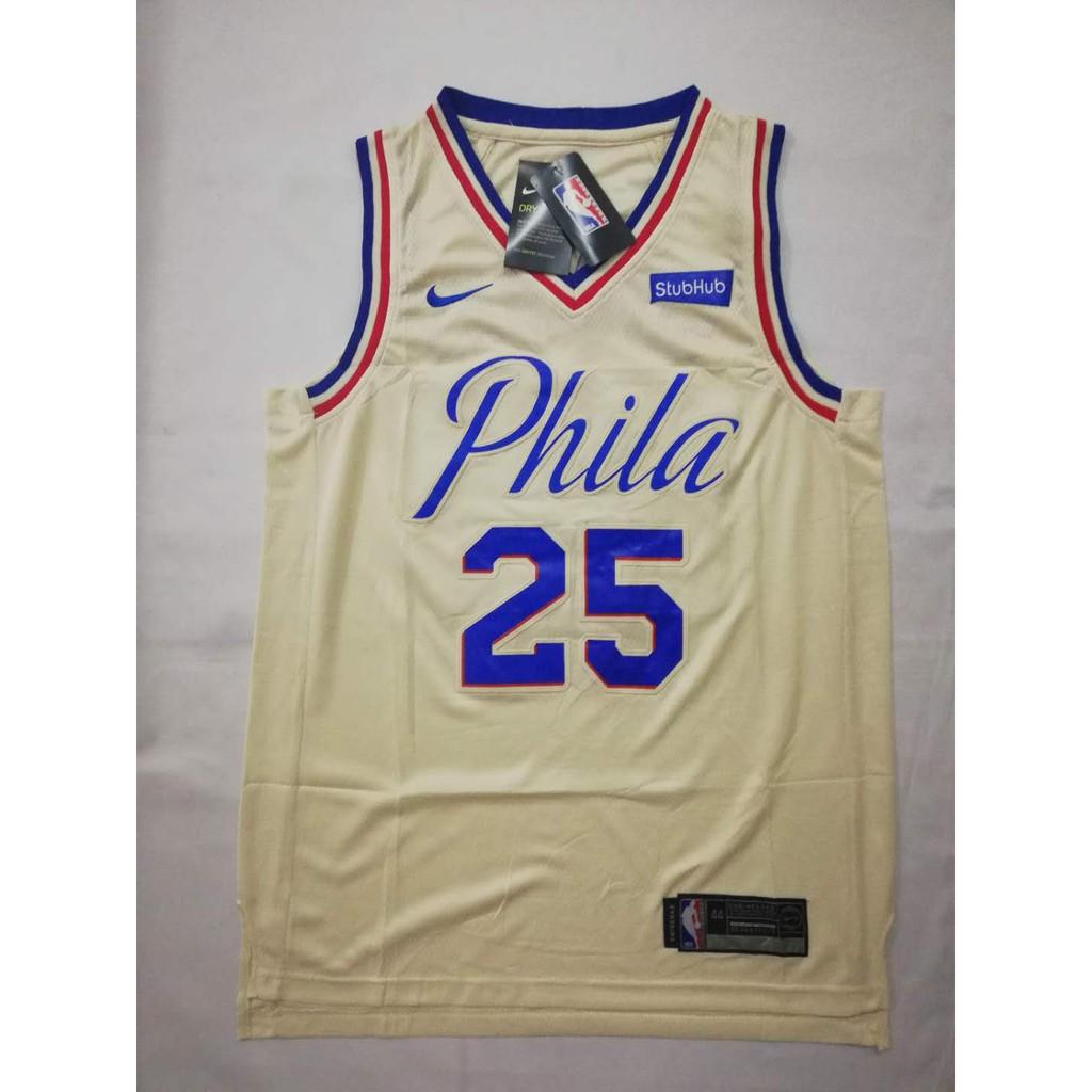 buy popular fb16c 32921 NBA Philadelphia Ben Simmons 25 Swingman Jersey
