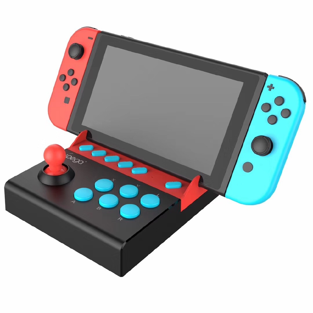 Pg-9136 switch Gladiator arcade rocker ns console game rocker plug and play with hair