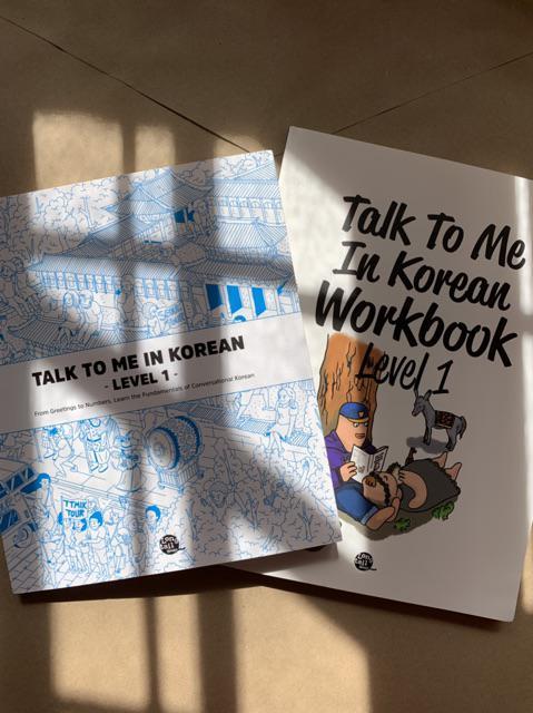 TALK TO ME IN KOREAN Textbook and Workbook / TTMIK   Shopee