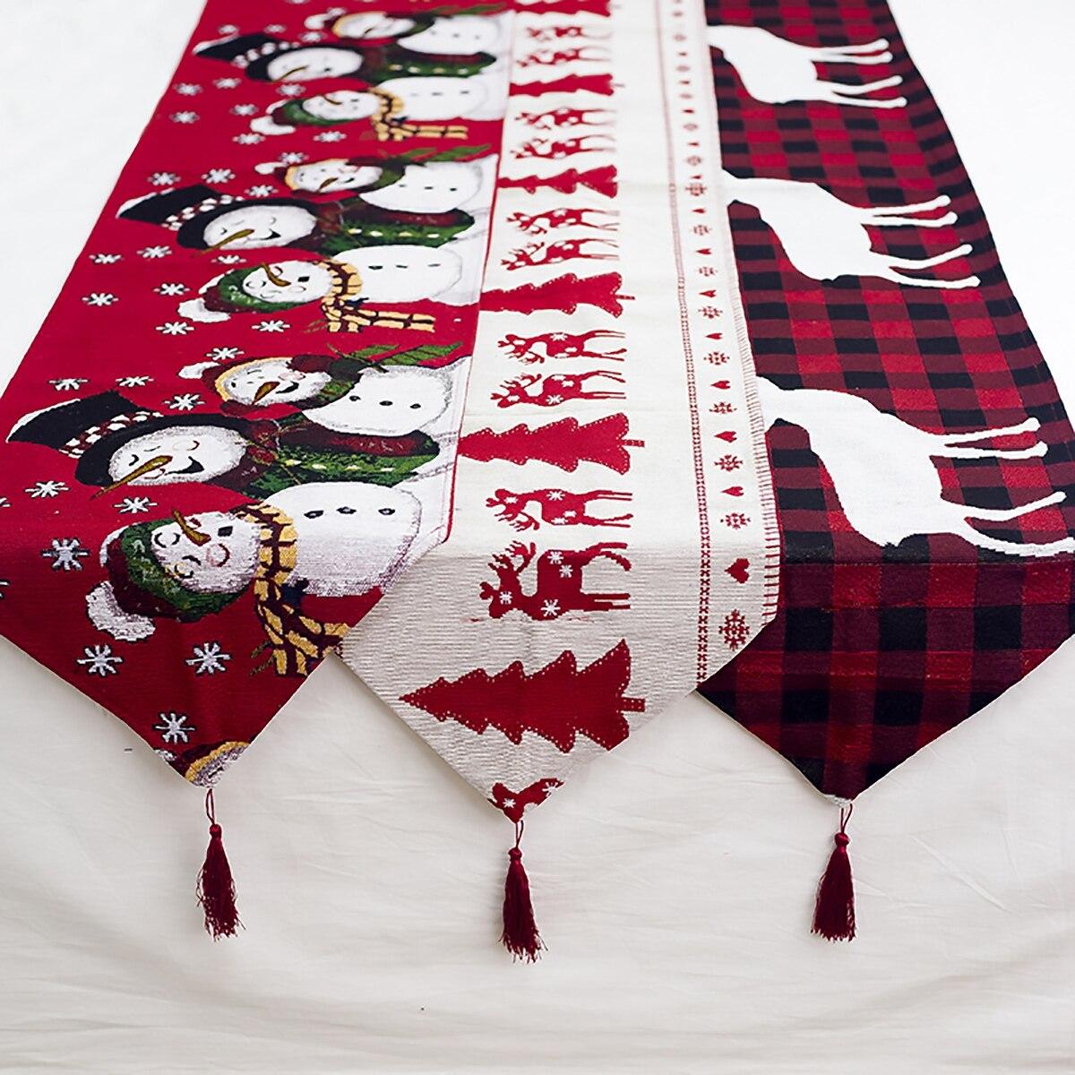 Christmas Table Runner Christmas Table Decor Holiday Table Runner Buffalo Plaid Christmas Decor Holiday Decor