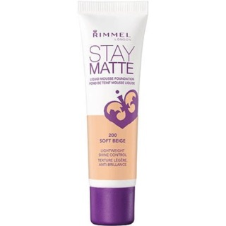 Rimmel Stay Matte Liquid Mousse Foundation (Light Ivory) | Shopee Philippines