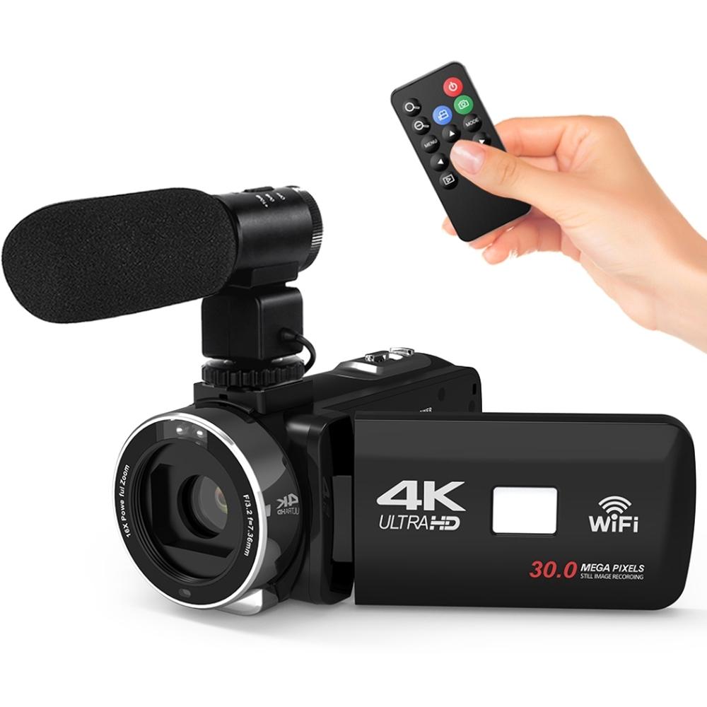 MON WiFi 4K HD 1080P 48MP Digital Video Camera Camcorder DV