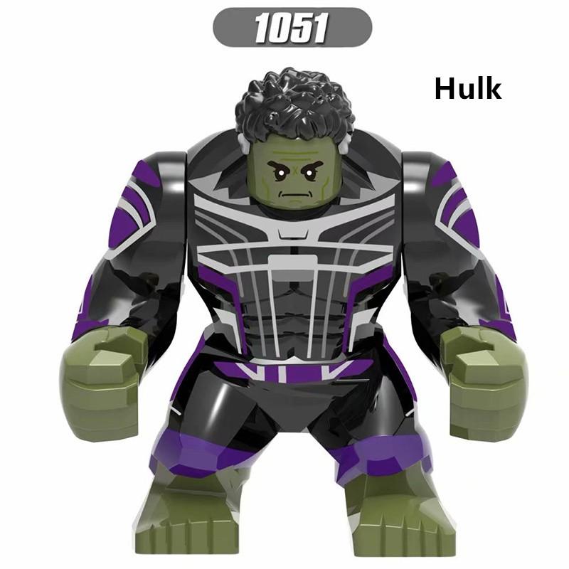 Avengers Endgame Hulk Lego Toys Big Minifigure X1051 ...