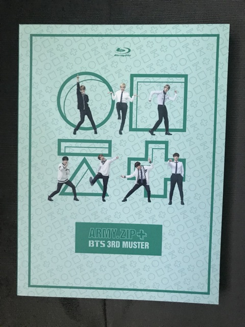 BTS 3RD MUSTER Blu-ray DVD Unsealed | Shopee Philippines