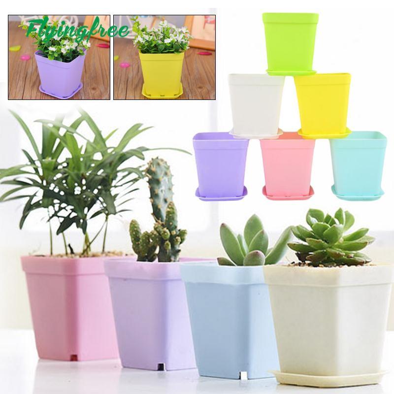Flower Pots Plant Flowerpot Plastic Planting Garden Decors(can wholesale) |  Shopee Philippines