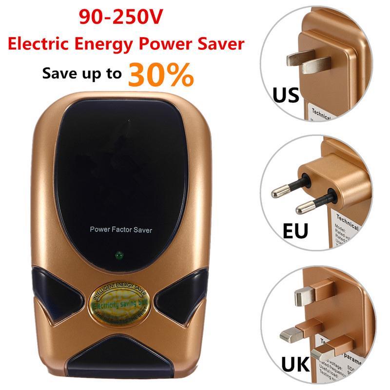Power Electricity Save Saving Energy Saver Box Home Smart Device 90-250V EU Plug