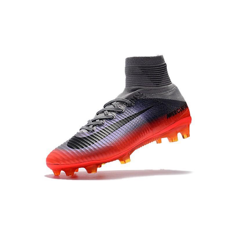 on sale 1322f 228c0 Soccer Nike Mercurial Superfly V CR7 men football shoes FG