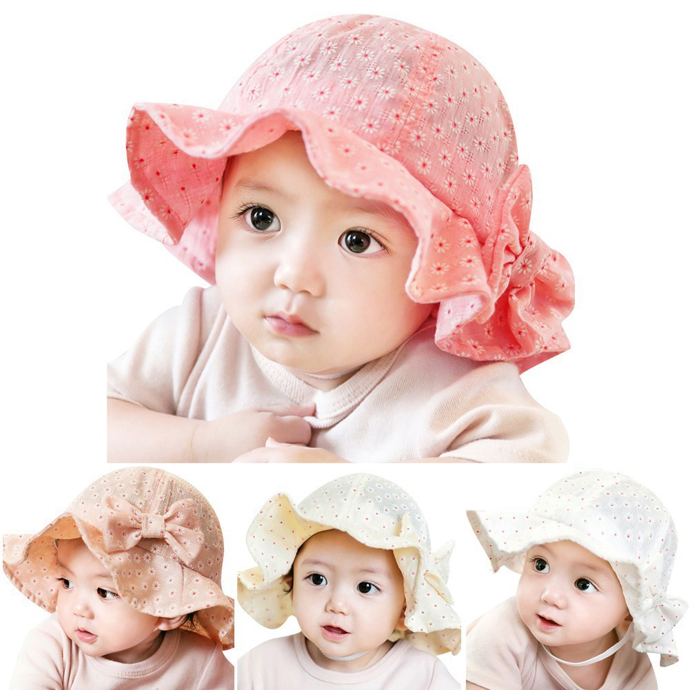 Kids Baby Toddler Boys Girls Cartoon Hat Infant Summer Sun Beach Outdoor Cap Hat
