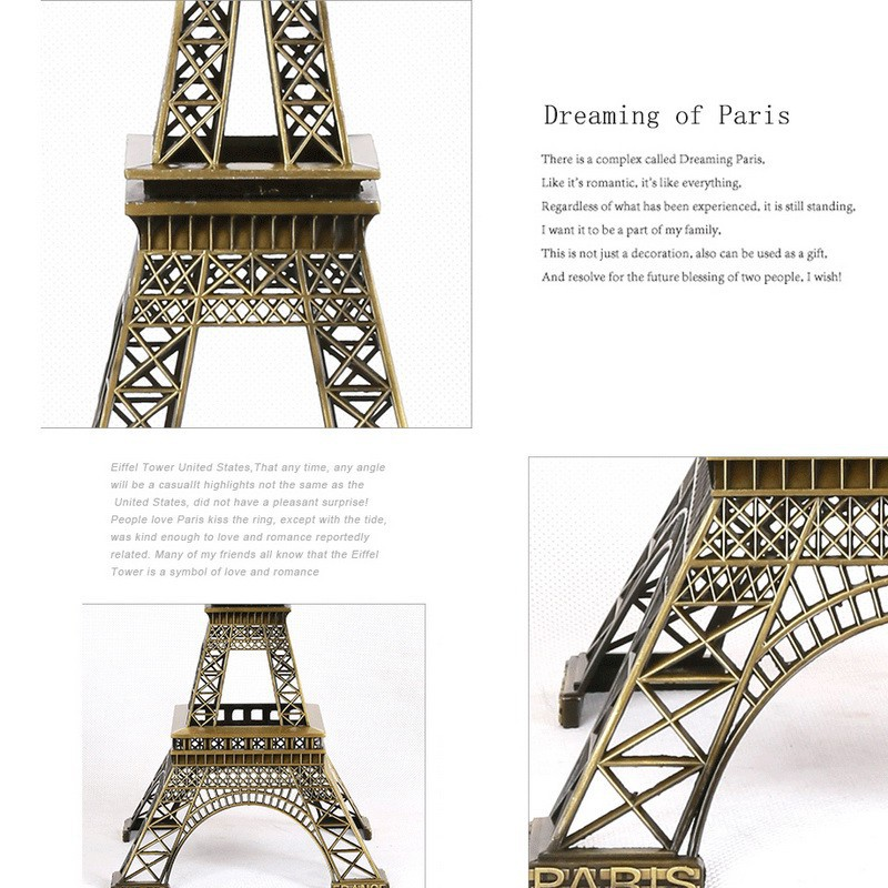 Creative Wall Decals DIY Paris Eiffel Tower Home Decor Sticker