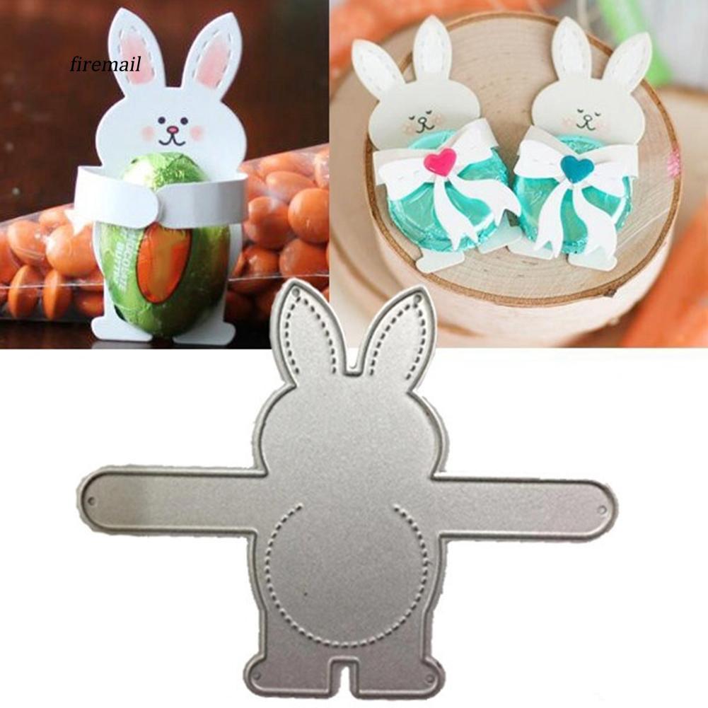 Easter Bunny Egg Metal Cutting Dies Stencil Scrapbooking Card Embossing DIY Form