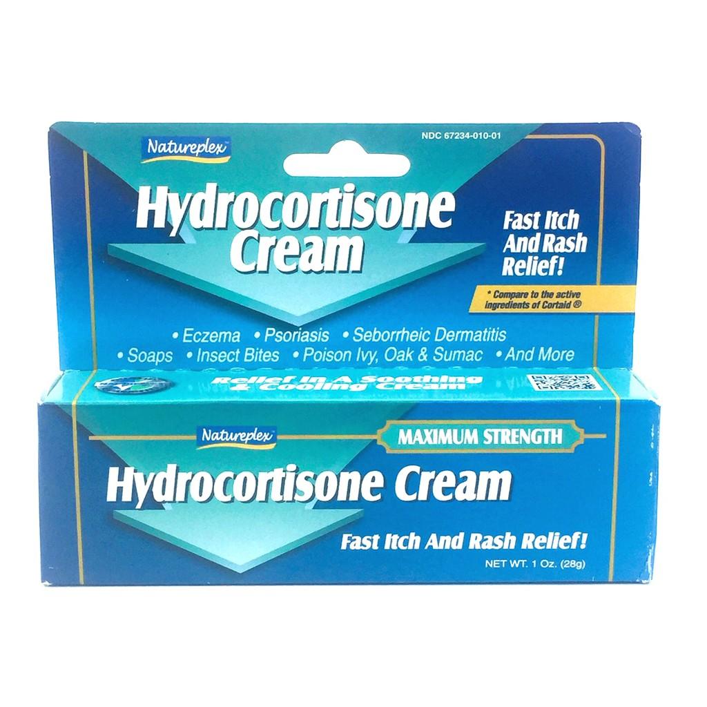 NATUREPLEX Fast Relief 1% Hydrocortisone Cream