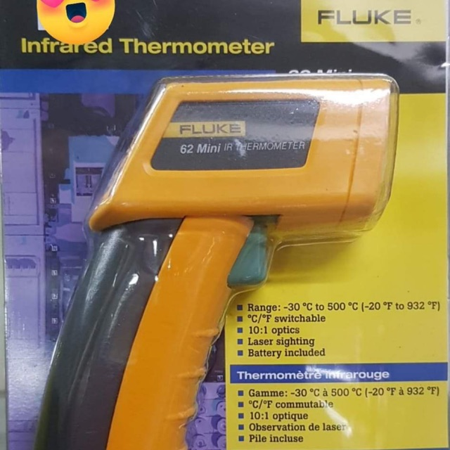 Fluke Infrared Thermometer 62 Mini