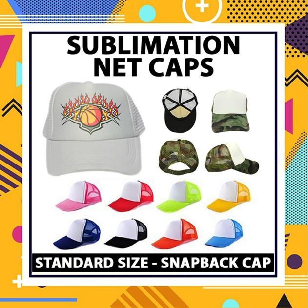 QUAFF SUBLIMATION NET CAP