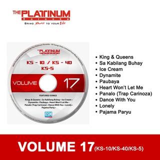 The Platinum KS5/KS10/KS40 Updated CD VOLUME 17 (MAY 2021 UPDATED)   Shopee  Philippines