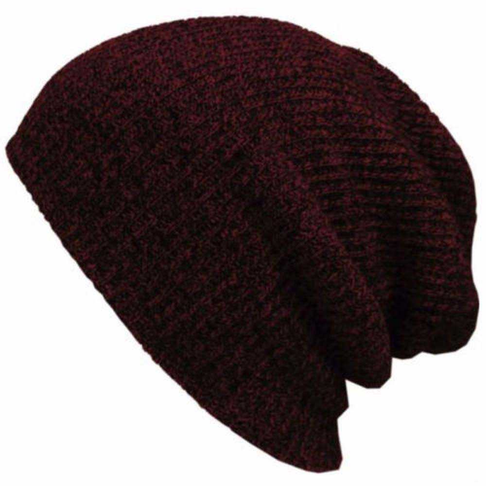 Unisex Vintage Electric Guitar Outdoor Fashion Knit Beanies Hat Soft Winter Knit Caps