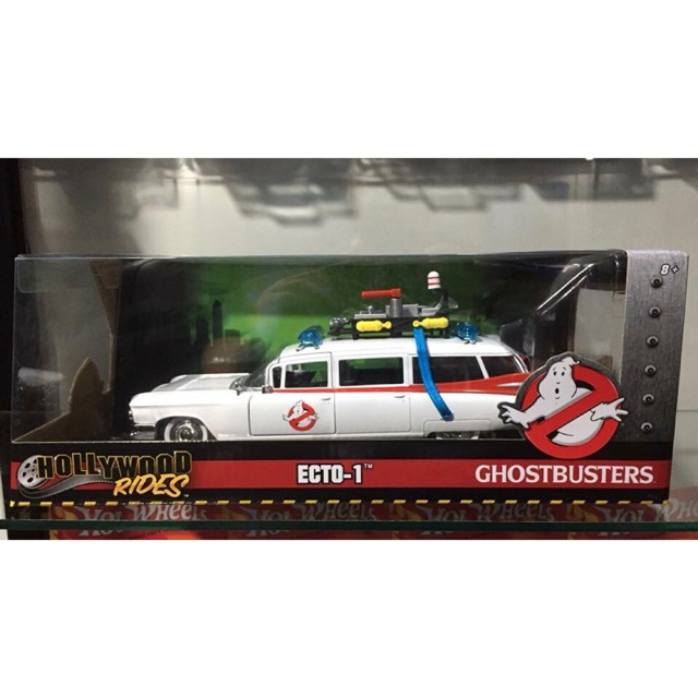 Hollywood Rides Ghostbuster Ecto1 | Scale: 1/24