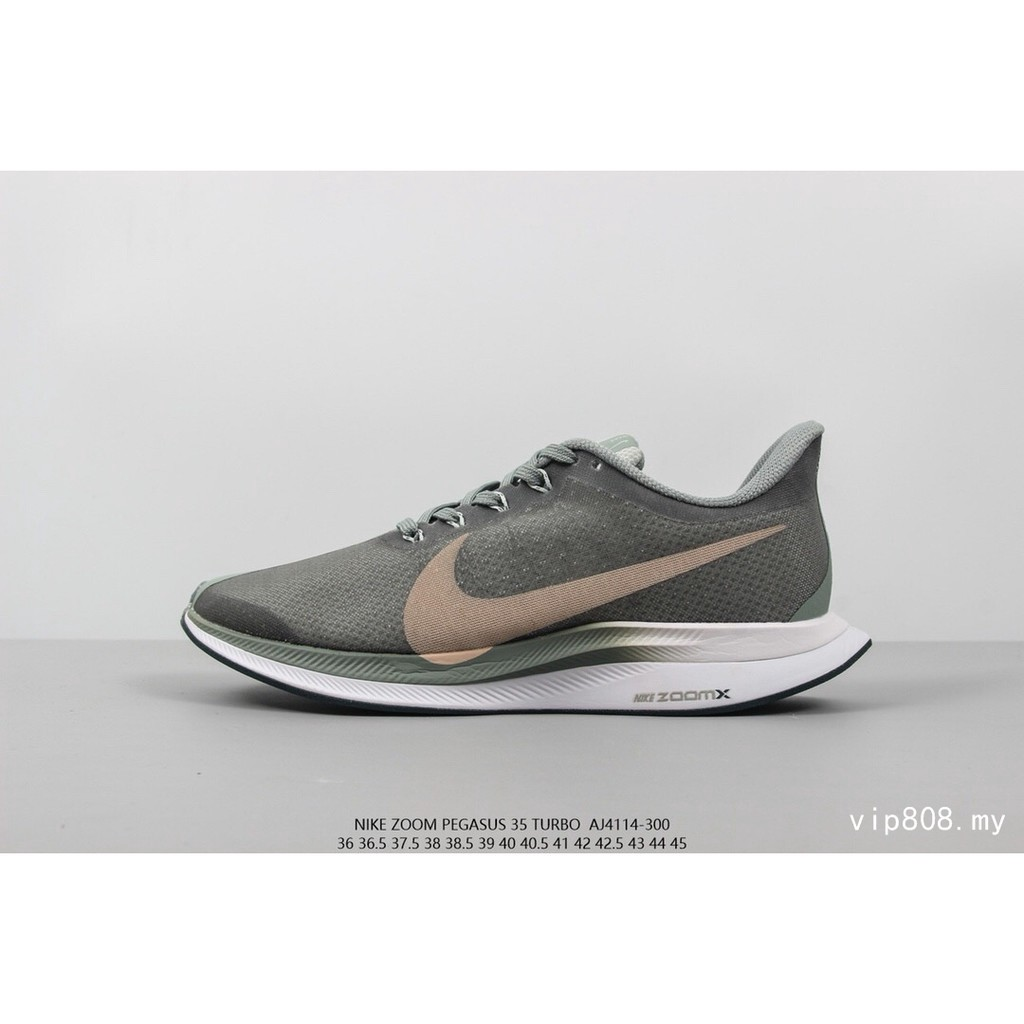 newest 6b71b cd346 Nike AIR ZOOM PEGASUS 35 TURBO for women Running shoes Color   Shopee  Philippines