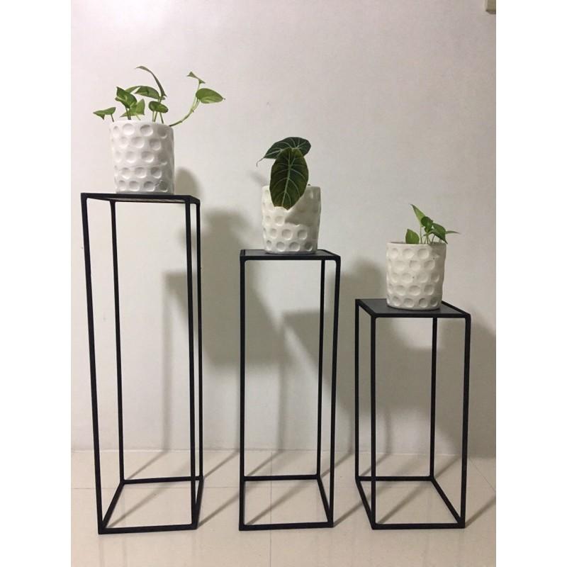 Square Style Plant Stand (per piece)