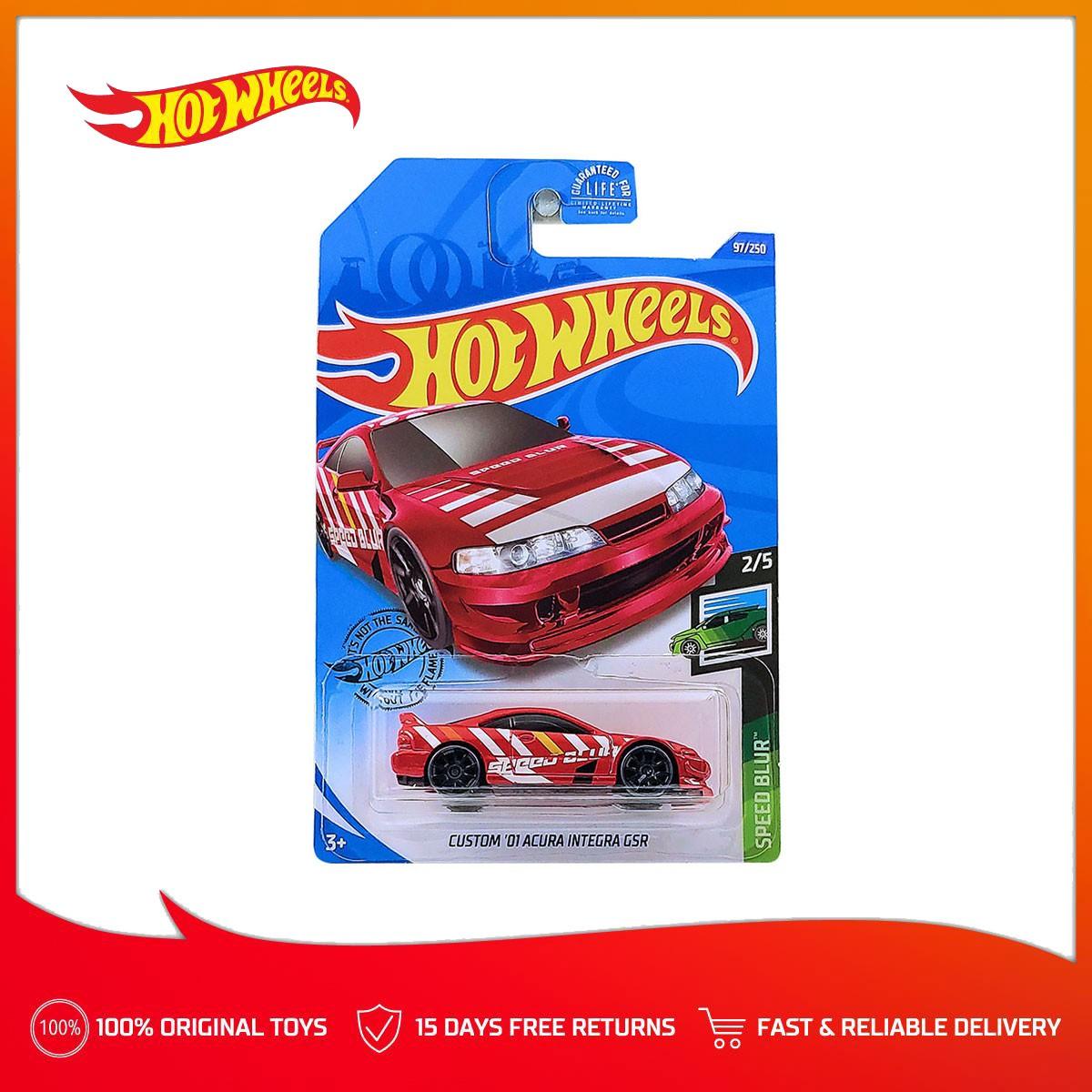 Hot Wheels Basic Car Custom 01 Acura Integra Gsr Red Case J Shopee Philippines