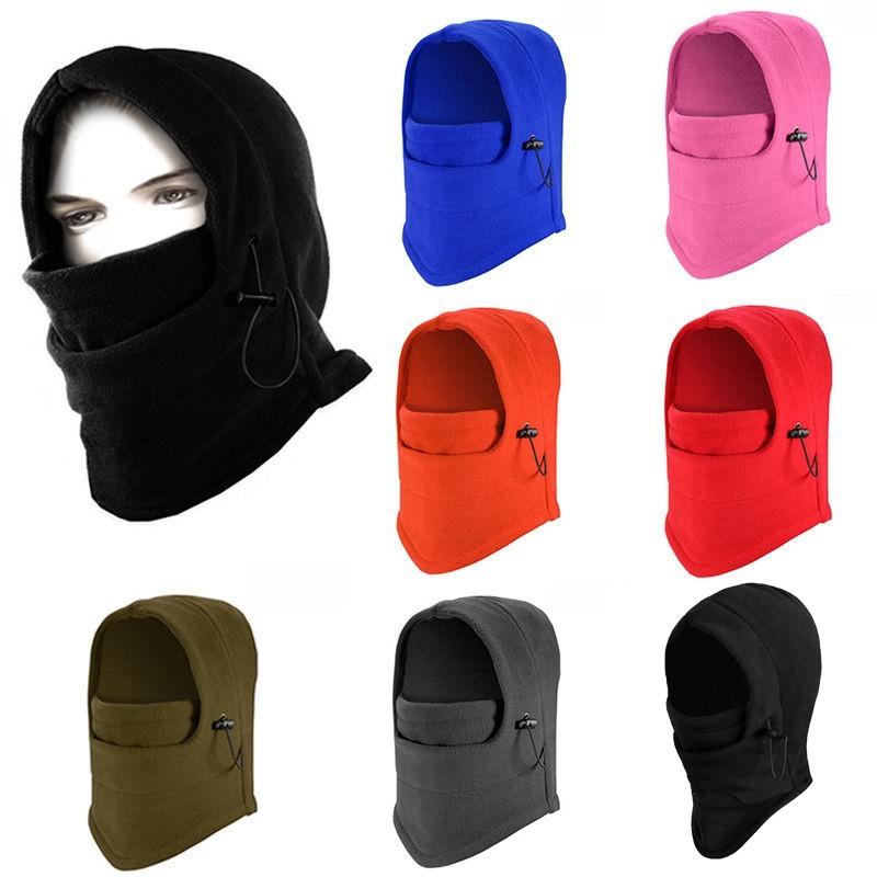 1pc. Thermal Fleece Balaclava Hood Wind Stopper Face Head Mask