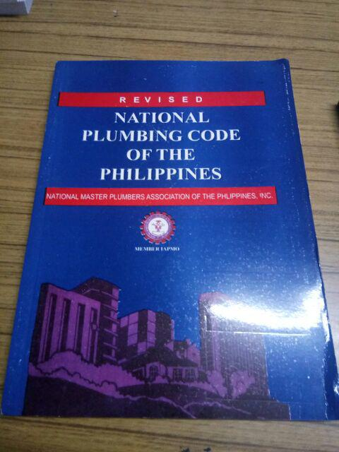 REVISED National Plumbing Code of the Philippines | Shopee