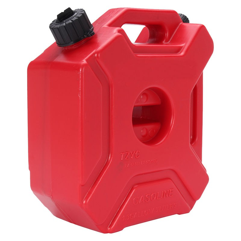 Plastic Gas Cans >> 5l Plastic Jerry Cans Gas Fuel Tank Suv Motorcycle Mounting Kit