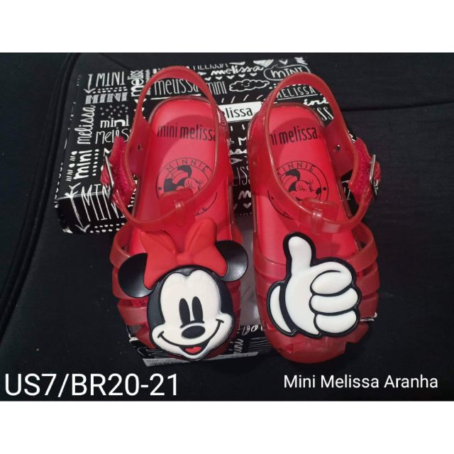 d31f382bf8 Authentic Mini Melissa Aranha S7