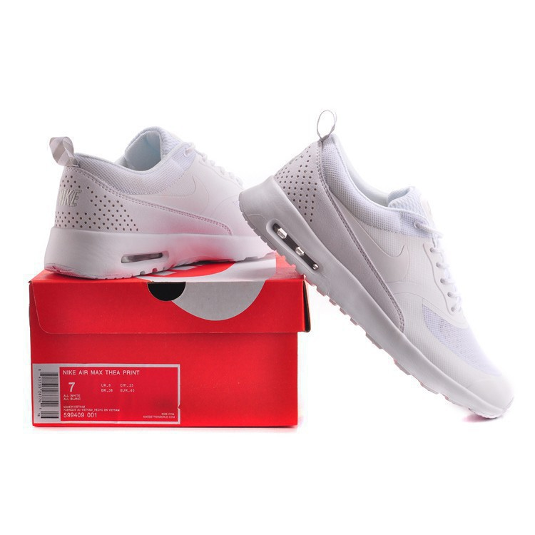 abbce33a73 jiseem Nike Air Max 87 90 Thea Full White Color Men And Women Size 36-45140  Fashion | Shopee Philippines