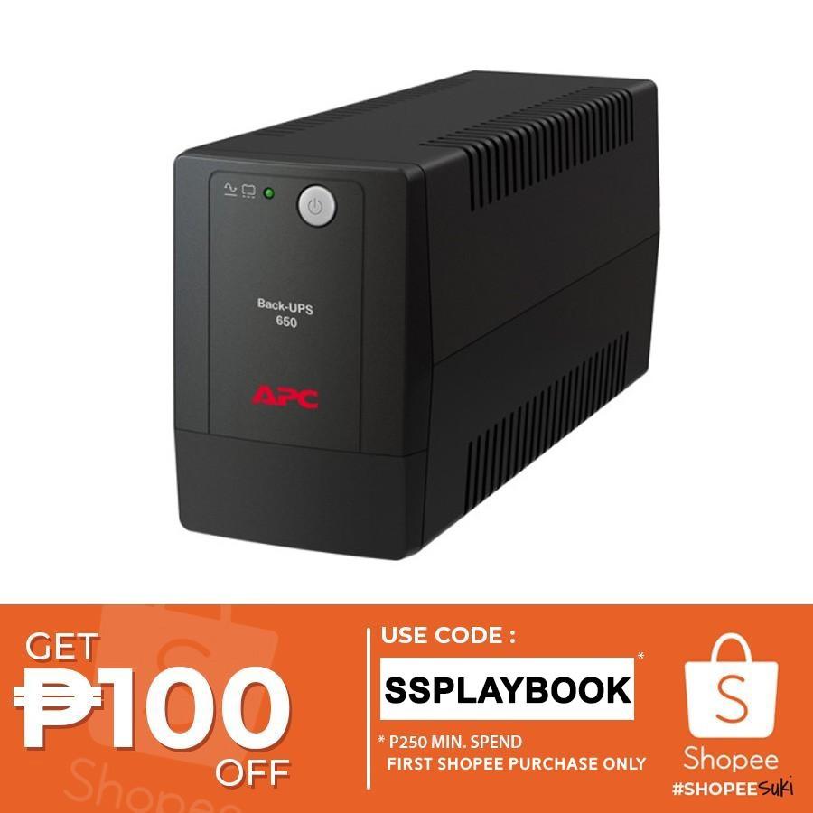 APC Back-UPS BX650LI-MS 325W 650VA w/ AVR Universal Sockets