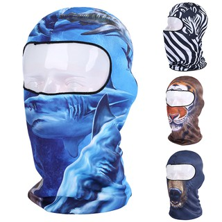 823e47ca020 Unisex Beanie Outdoor Cycling Motorcycle Ski Neck Hood Full Mask Hat  Headgear