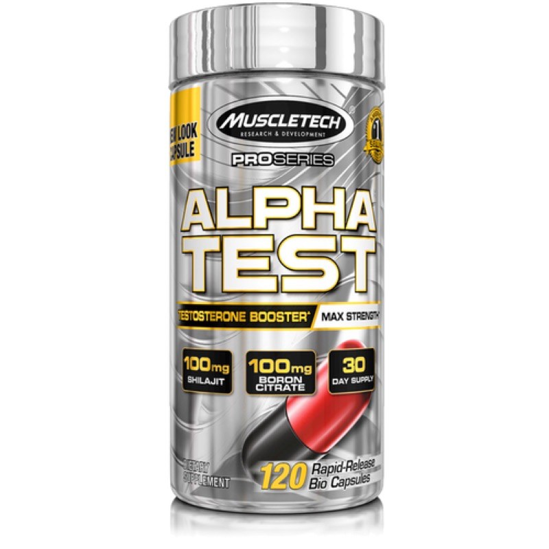 muscletech alpha test testosterone booster 120 caps Shopee Philippines