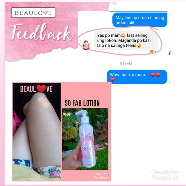 BeauLove So Fab! Alpha Arbutin + Collagen Lotion 250ml